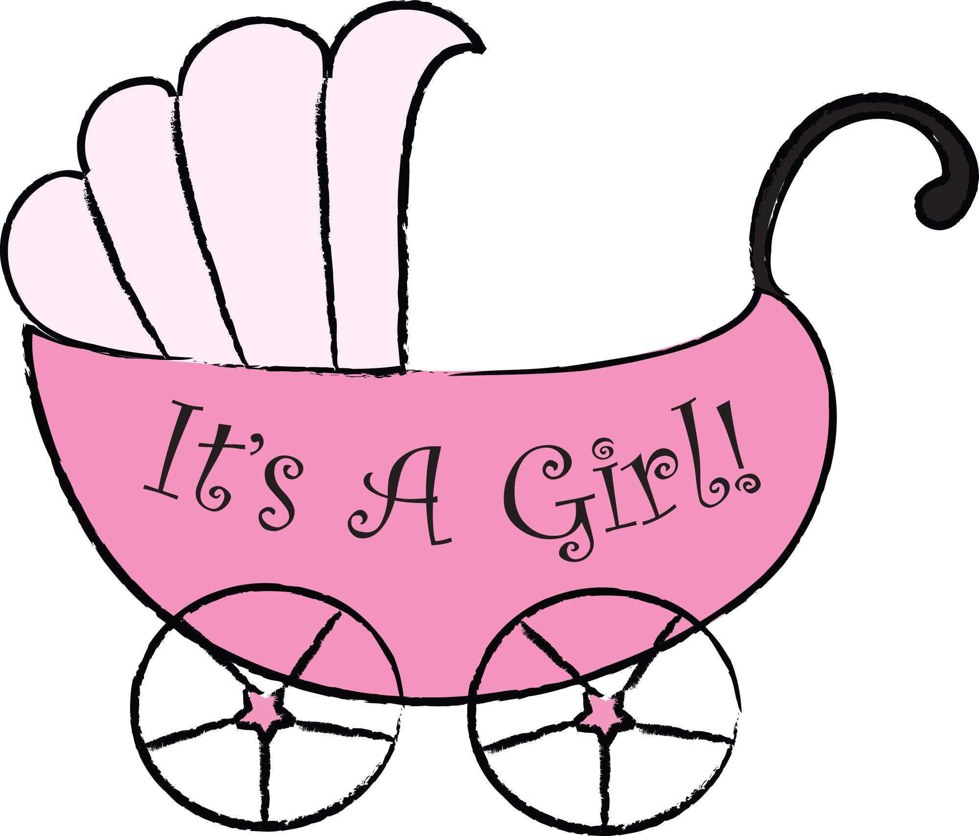 2000x1707 New Baby Girl Clipart