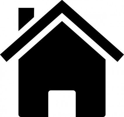 425x402 Home Clip Art