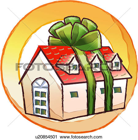 450x456 House Clipart New Home