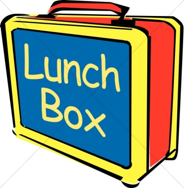 380x388 Lunch From Home Clipart