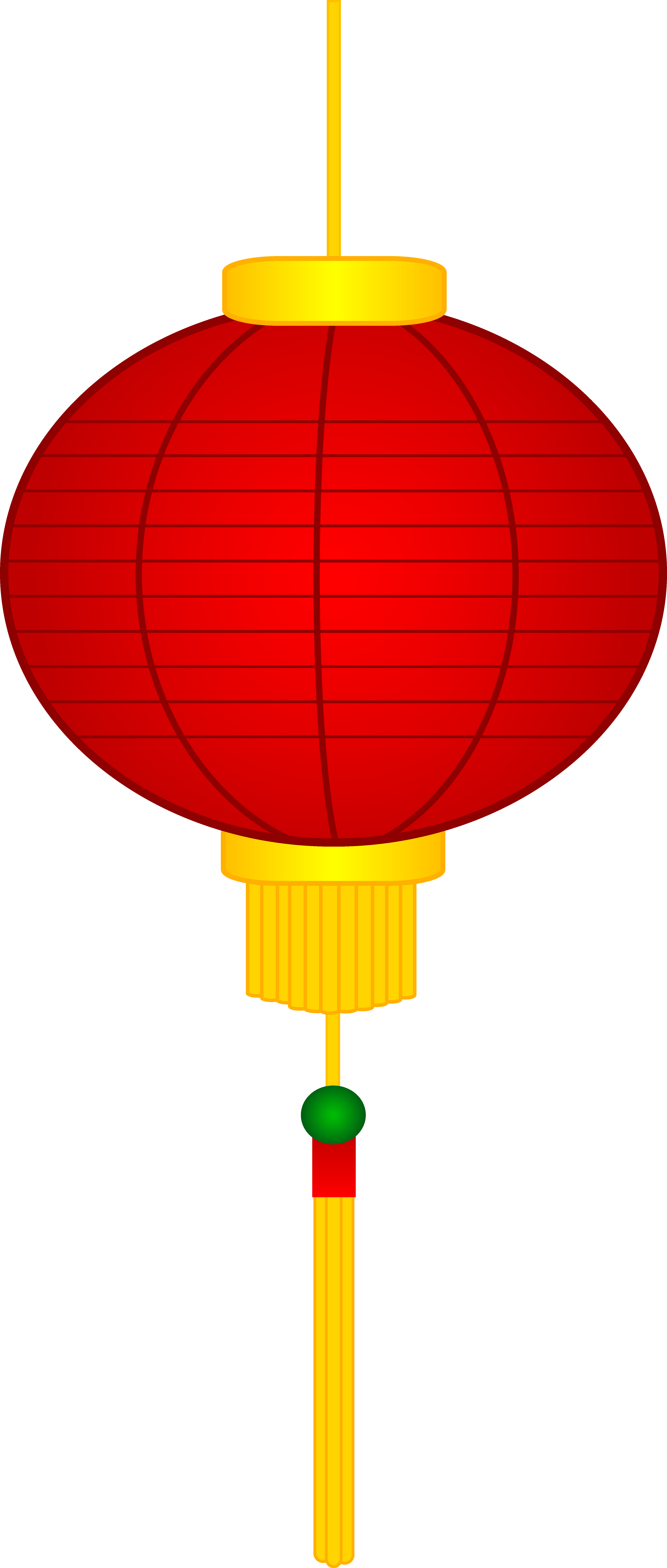 3999x9405 Red Chinese Paper Lantern