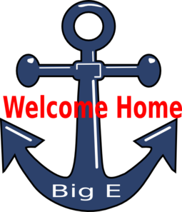 255x297 Welcome Home Anchor Clip Art