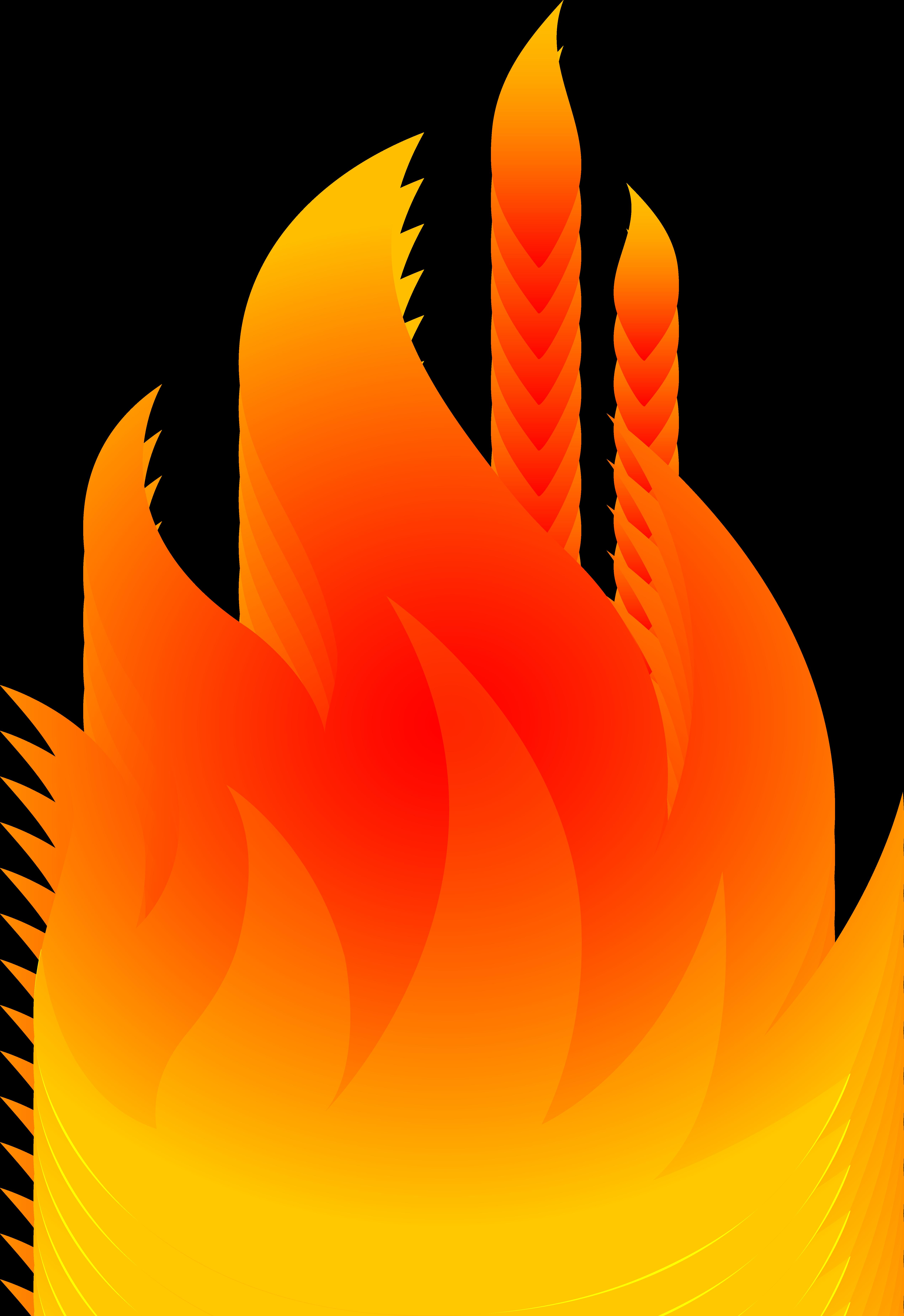 5084x7399 Bonfire Clipart House Fire