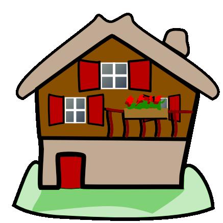 437x437 Clip Art New Cottage Home Cliparts