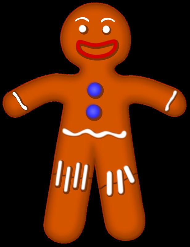 616x800 Gingerbread House Clip Art