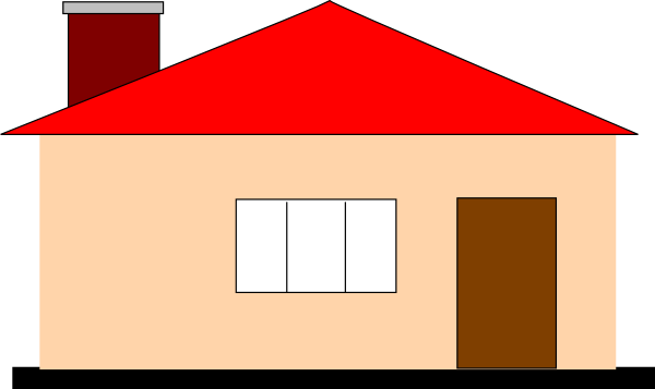 600x357 Home New House Clipart Kid 2