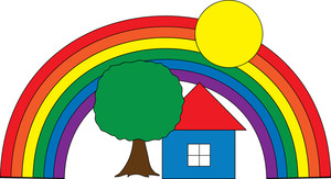 300x163 House Clipart Image