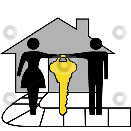 450x450 Key Clipart New Home