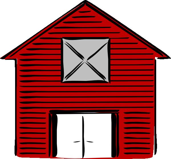 600x558 New Barn Clip Art