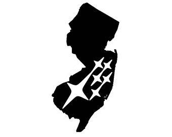 340x270 New Jersey Outline Etsy