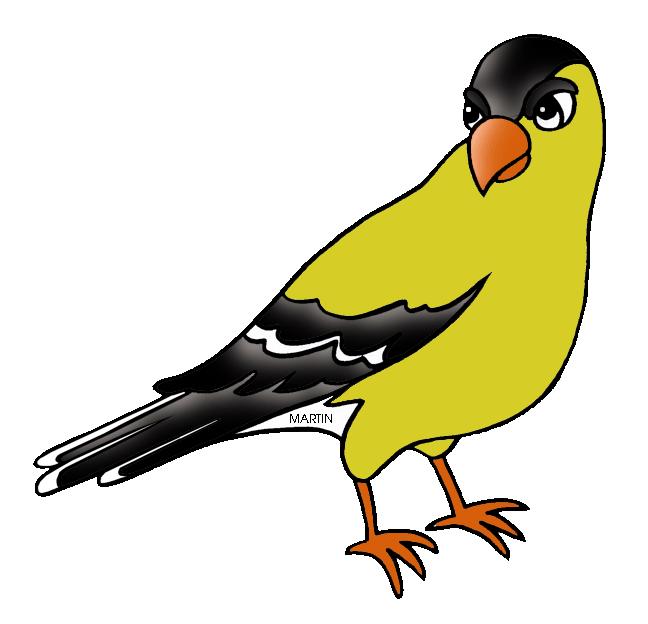 648x624 United States Clip Art By Phillip Martin, New Jersey State Bird