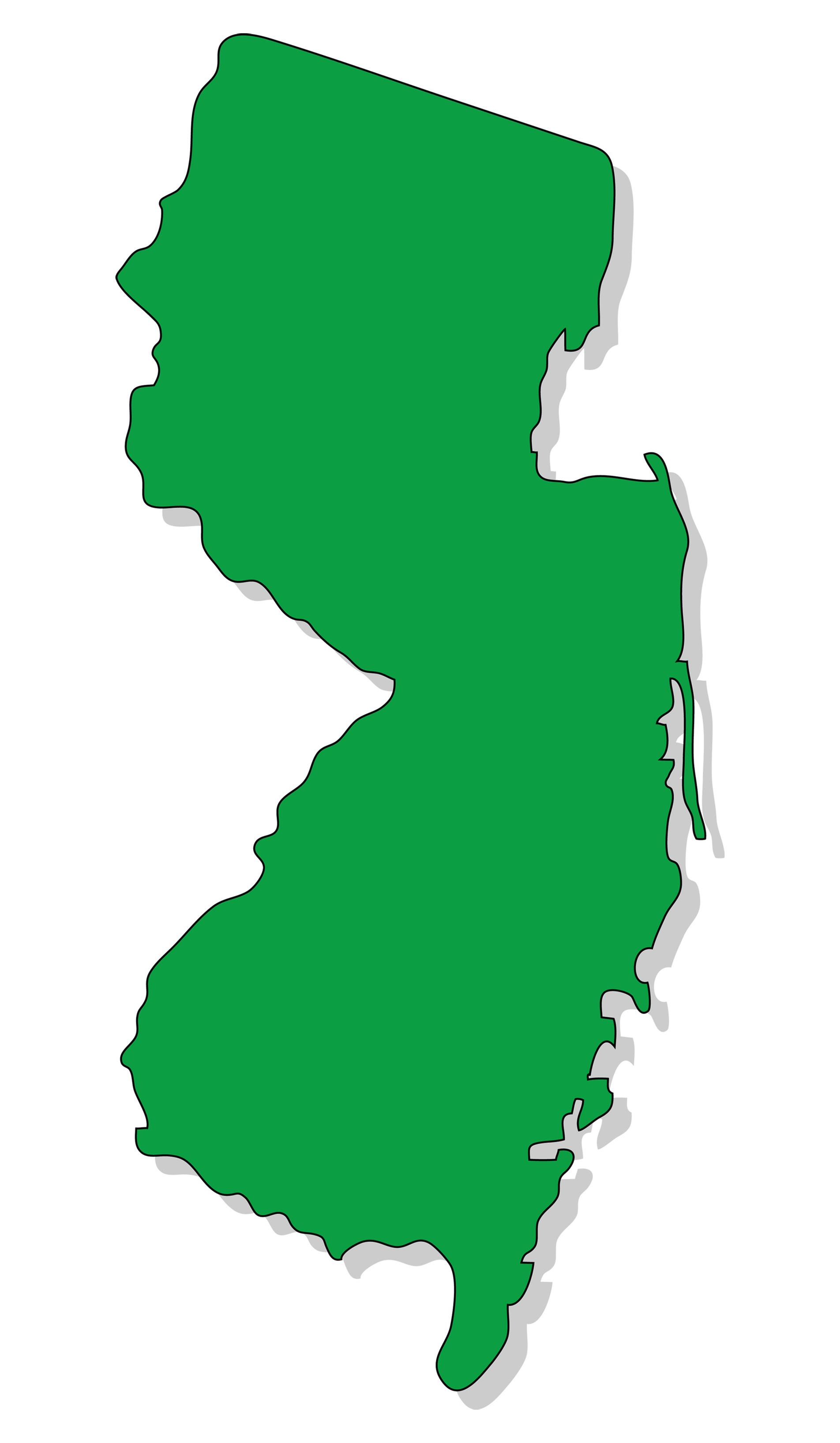 1904x3267 Clipart New Jersey