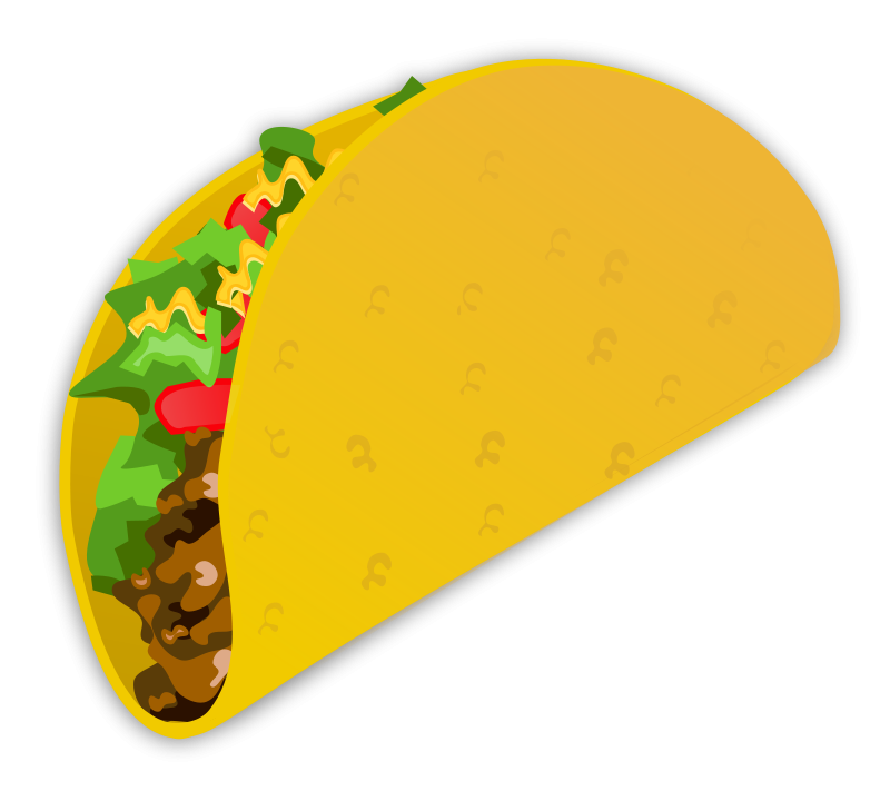 800x720 Download Mexico Clip Art Free Clipart Of Mexican Food Taco 4