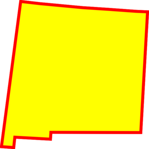 298x297 New Mexico State Clip Art
