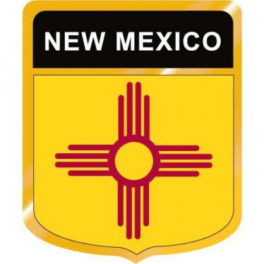 374x374 New Mexico State Flag Clip Art