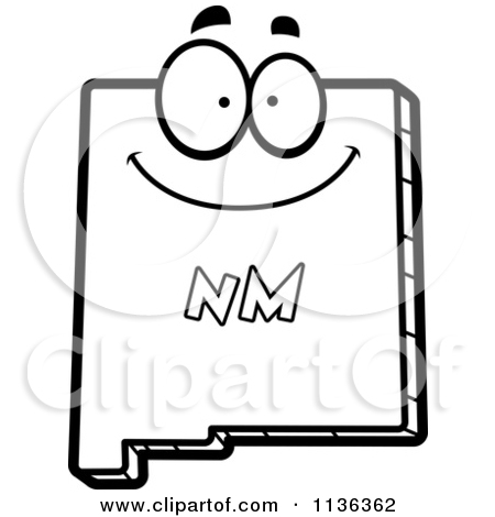 450x470 New Mexico Clipart