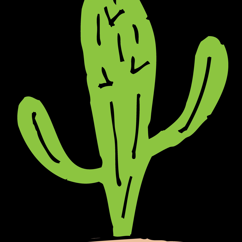 3000x3000 Cactus Clipart