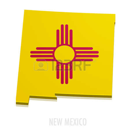 450x450 New Mexico Outline Clipart Free
