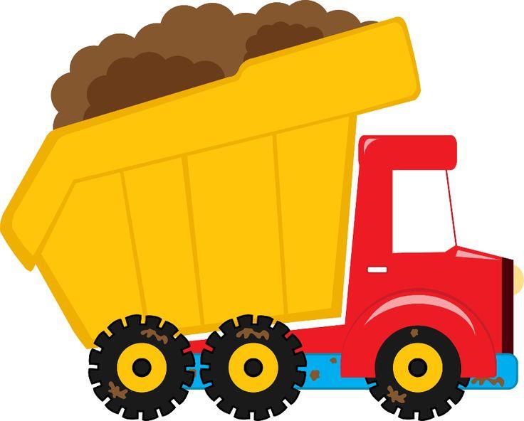 736x592 Dump truck clipart images