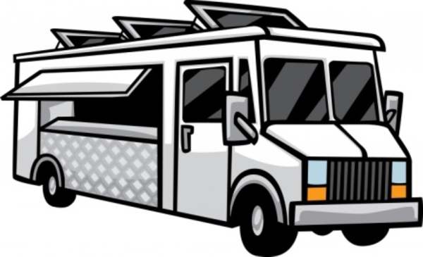 600x365 Food Truck Clipart