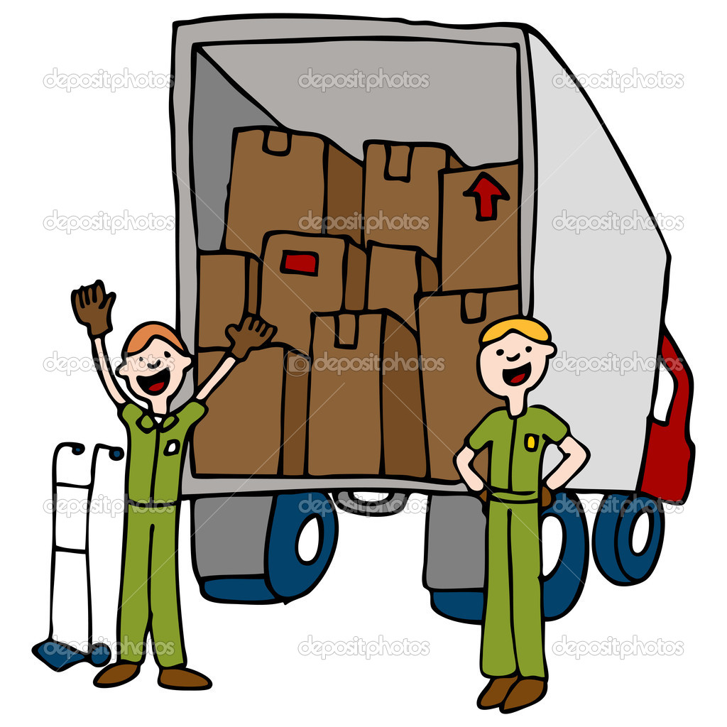 1024x1024 Moving Boxes Clipart