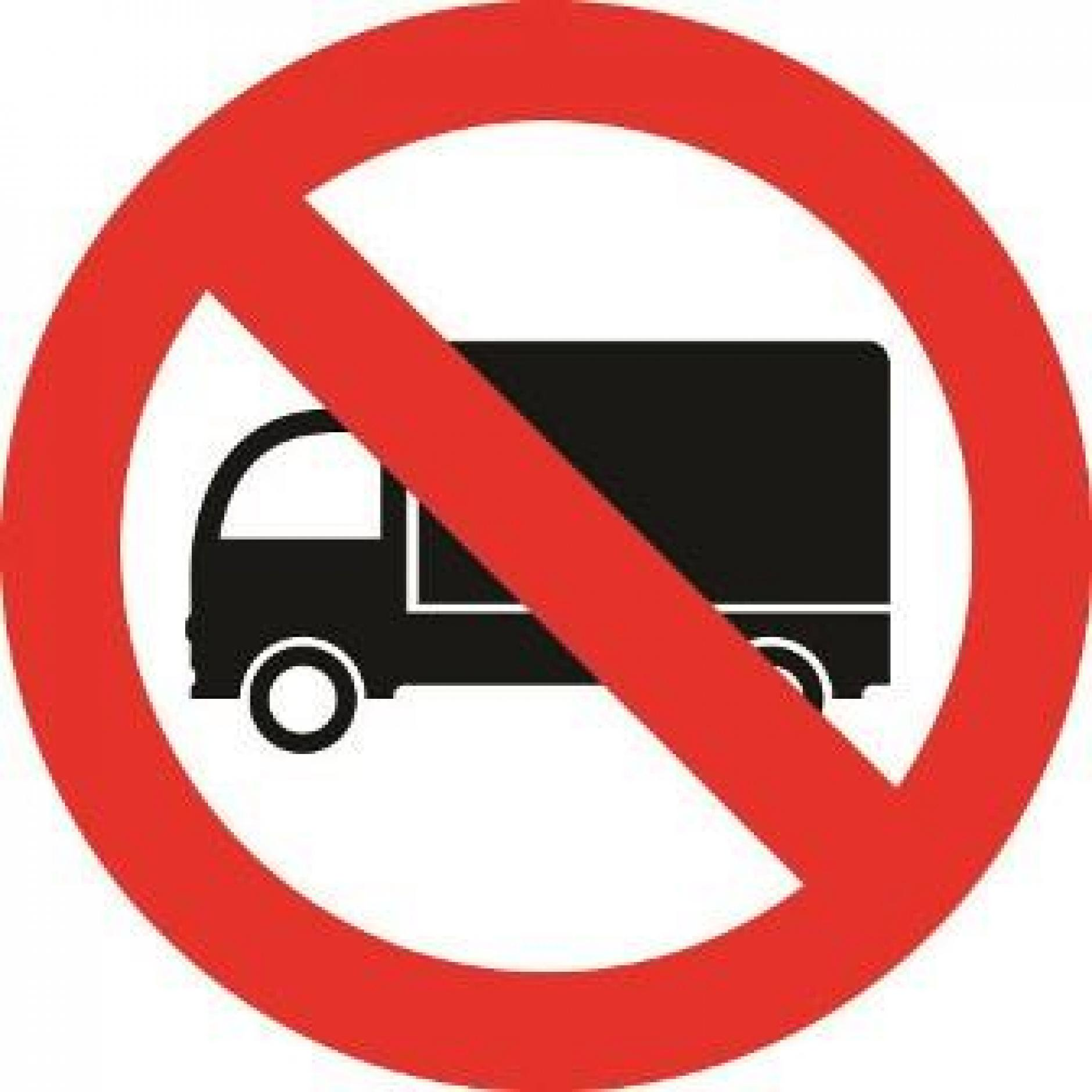 1880x1880 Ban For Trucks Clipart