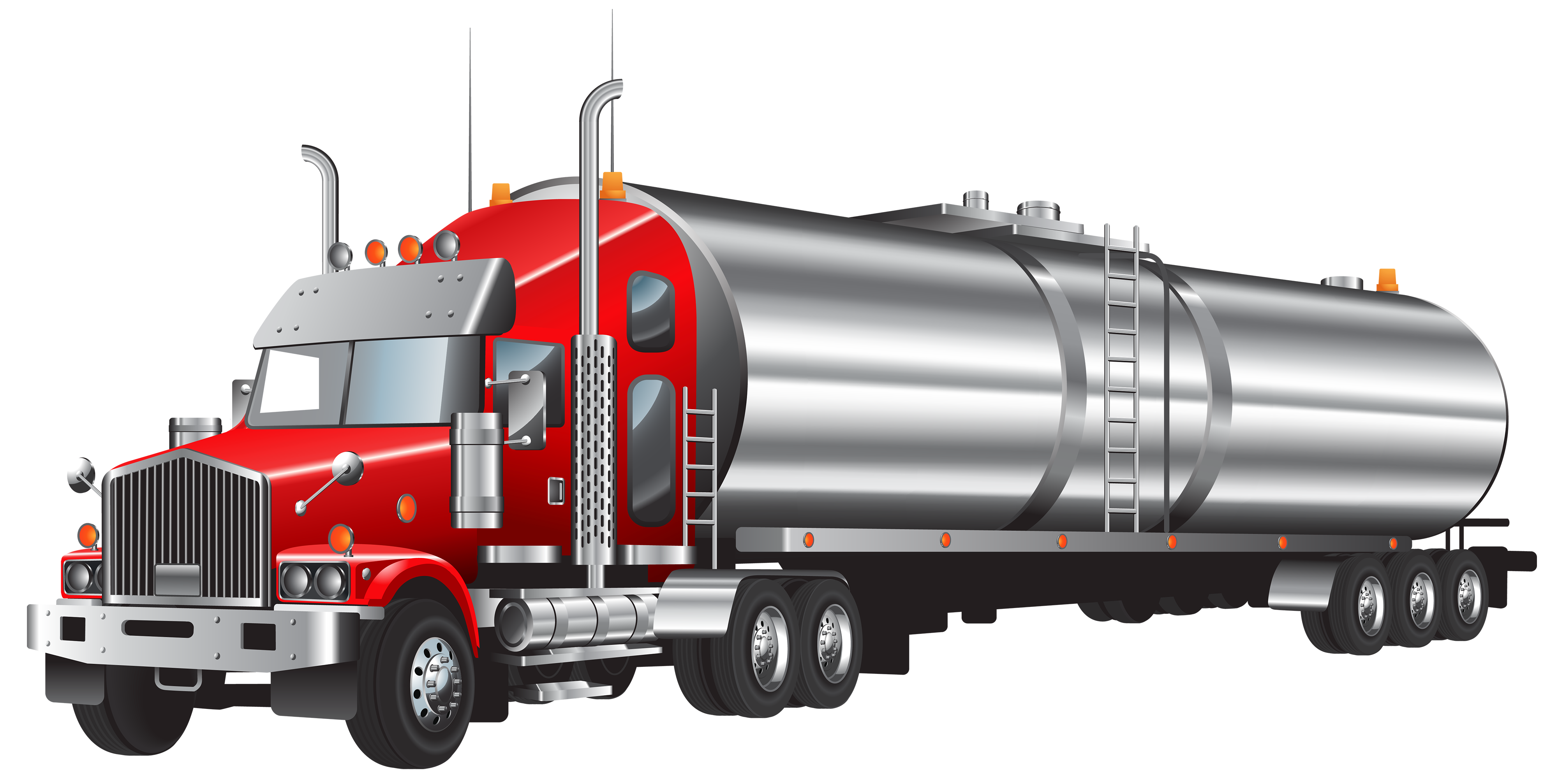 4000x2014 Tank Truck PNG Clipart