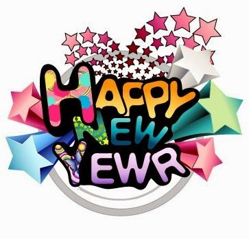 363x348 New Year Wishes Clipart
