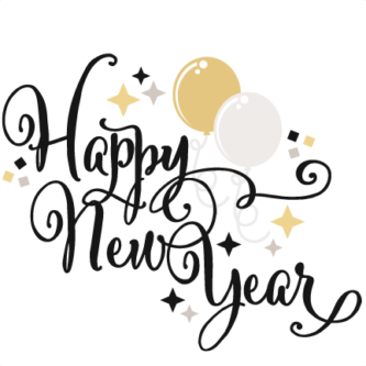 333x333 Clipart Happy New Year New Years Eve Clipart