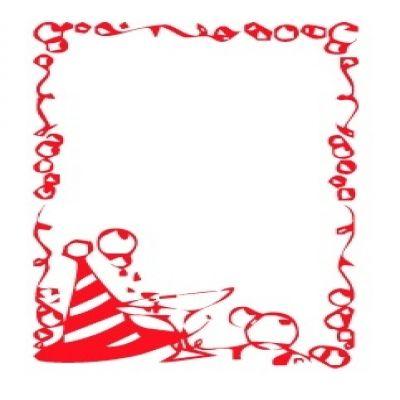 400x400 Happy New Year Borders Clip Art Merry Christmas Amp Happy New Year