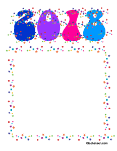 232x300 New Year Printables And Activity Pages