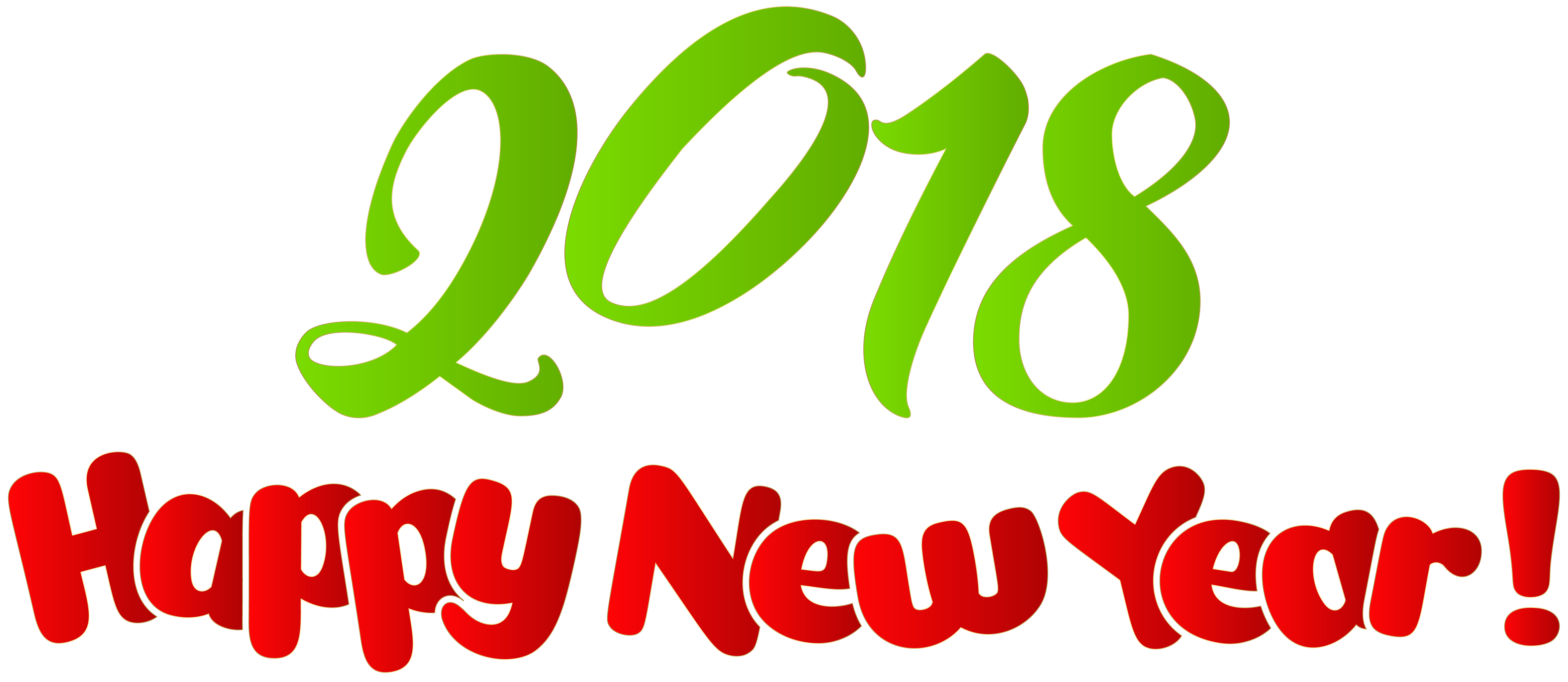 8000x3479 2018 Happy New Year Png Clip Art Imageu200b Gallery Yopriceville