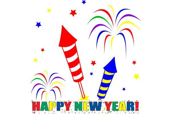 600x400 Happy New Year Clip Art 4