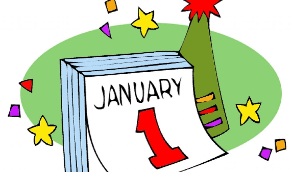 1024x600 New Year's Day Clip Art Cliparts