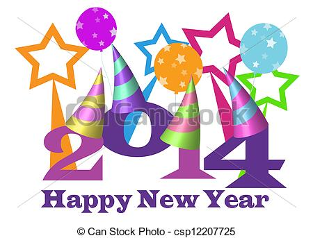 450x343 Happy New Year 2014 Clip Art – Cliparts