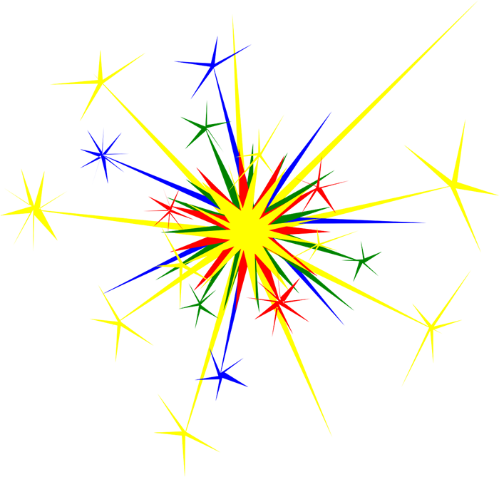 700x669 Free animated fireworks images