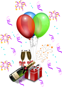 213x297 New Year S Eve Celebration Clip Art