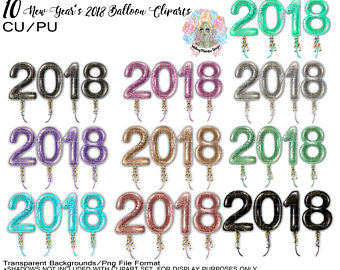 340x270 New Years Clip Art Etsy