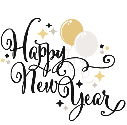 432x425 Happy New Years Eve Clip Art Happy New Year Svg Scrapbook Title