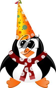 224x350 Happy New Year Hat Clip Art