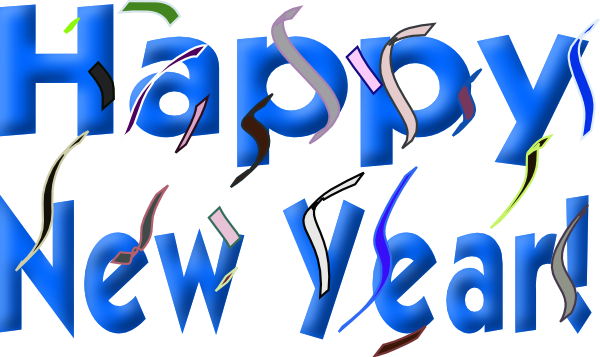 600x357 2016 New Years Clipart