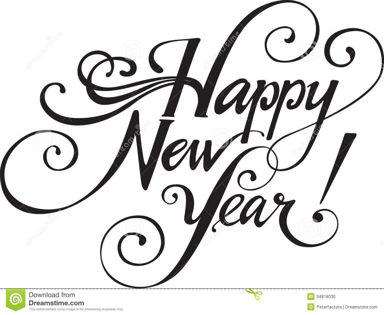 1300x1065 Best Happy New Year Clip Art Tianyihengfengfree Download High
