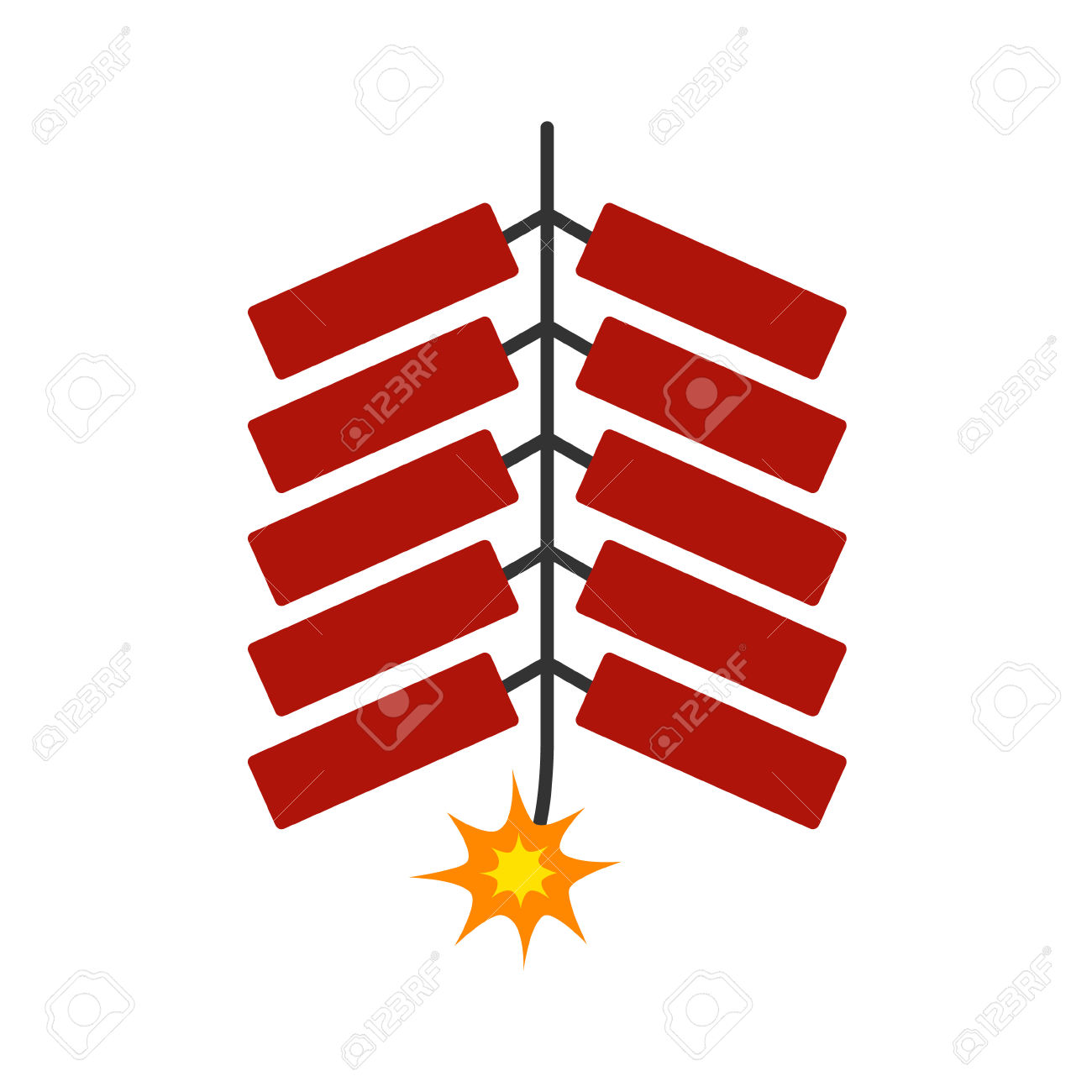 1300x1300 China Clipart Fire Cracker