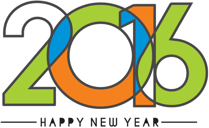 700x430 Colorful Happy New Year 2016 Text Design 1designshop