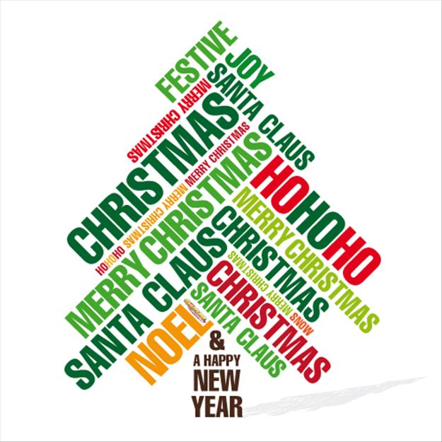 625x625 Merry Christmas And Happy New Year Clip Art
