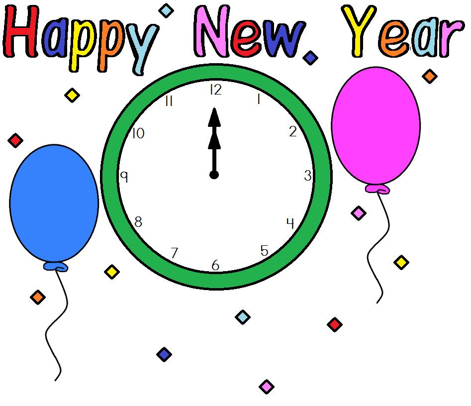 947x816 New Year Holiday Clip Art