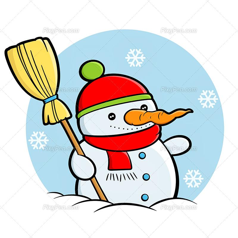 800x800 New Year Clipart Snowman