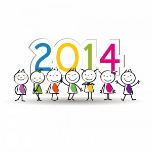 300x300 Latest Printable Clip Art Of Happy New Year 2014 For Kids