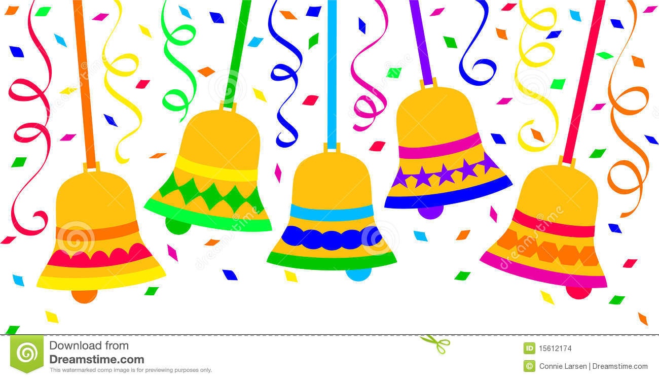 1300x749 Bell Clipart New Year