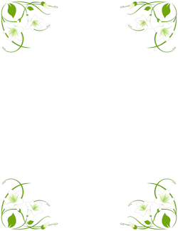 250x324 Free Nature Borders Clip Art, Page Borders, And Vector Graphics